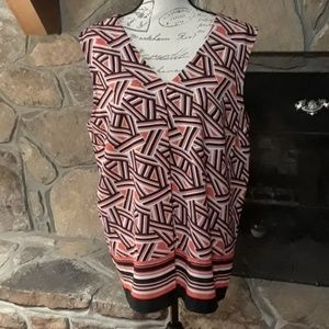 NWT Nine West sleeveless top